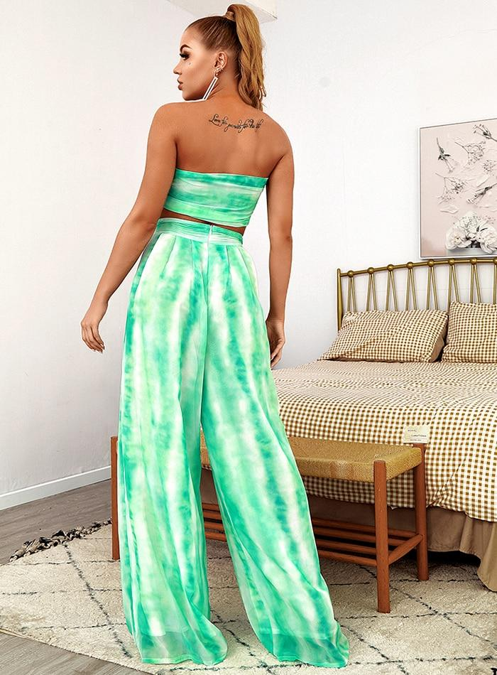 Primetime Looks-Ocean Goddess Tie-dyed Set