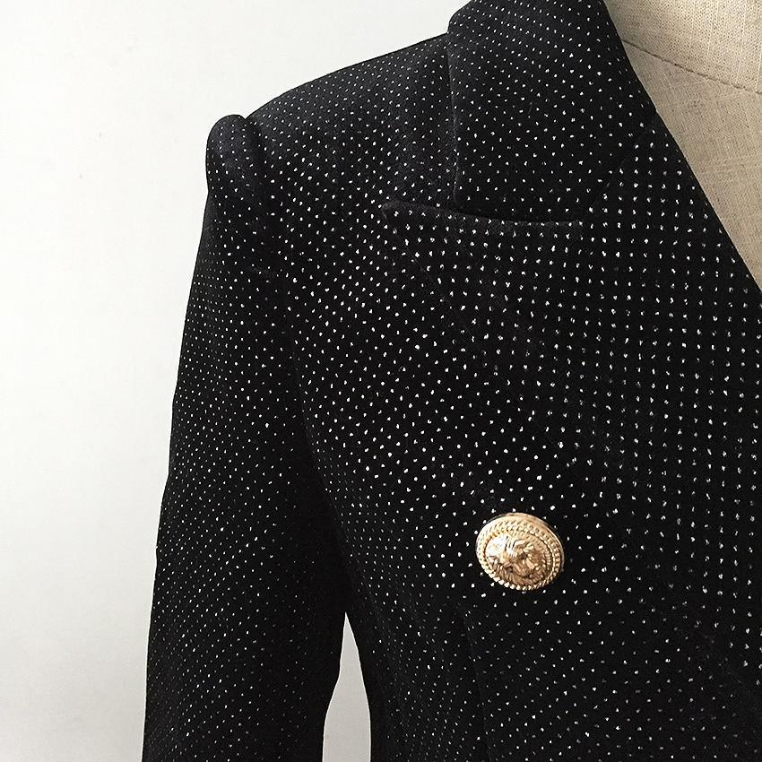 Primetime Looks-Shimmery double-breasted blazer