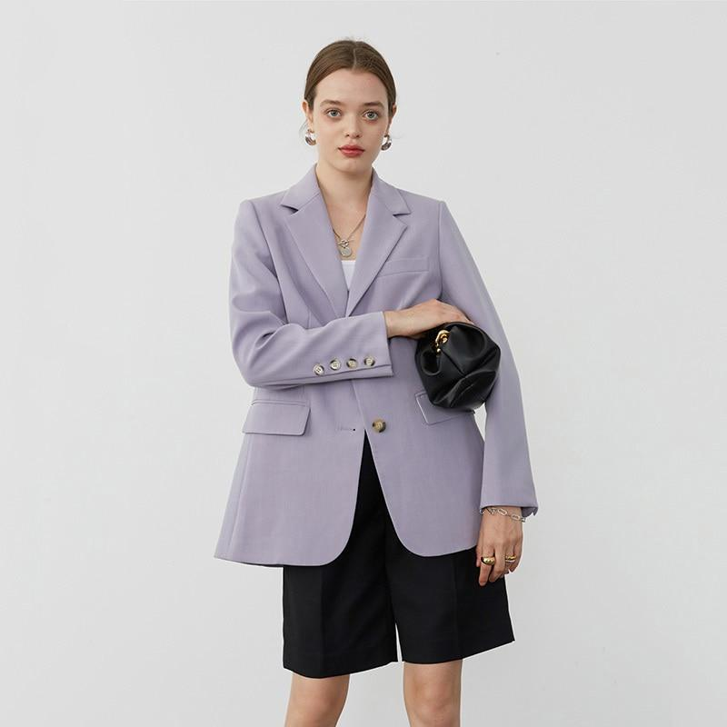 Primetime Looks-Smart and Chic Blazer in powder blue
