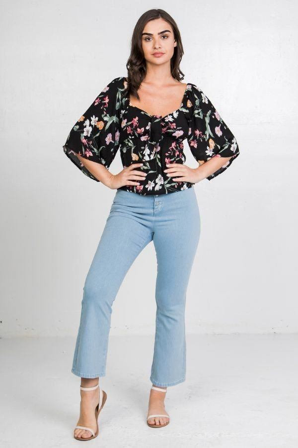 Sweetheart Floral Top