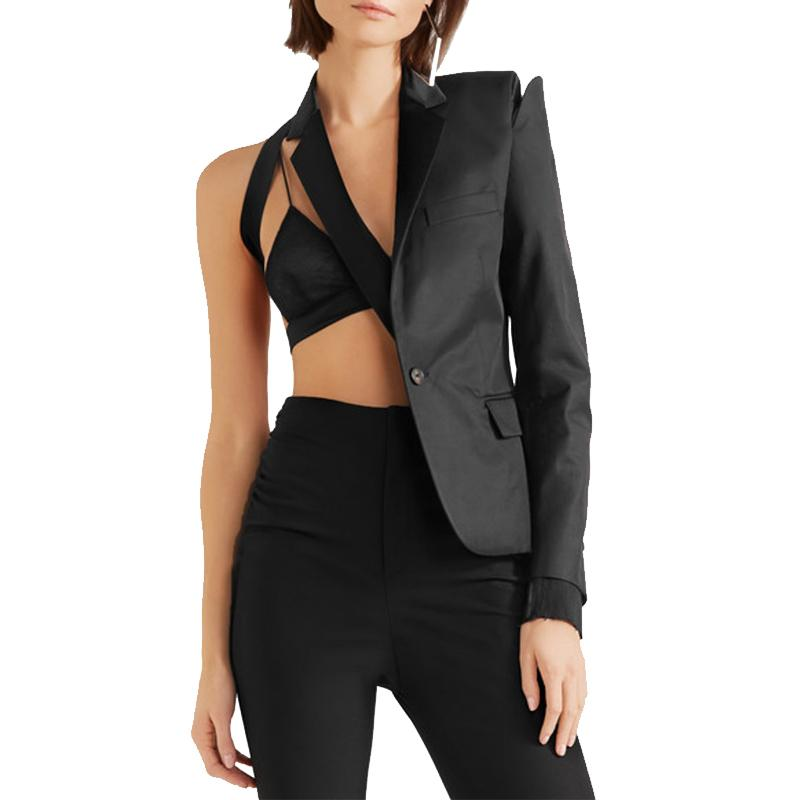 Primetime Looks-VOGUEISH One-sided elegant blazer