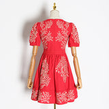 MARITZA embroidered boho dress