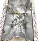 LEMON CHIPS embellished evening purse