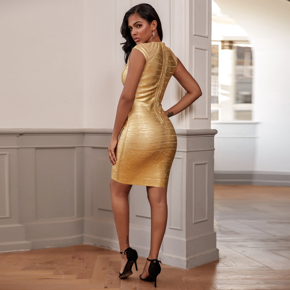 JULISSA bandage mini dress in colors