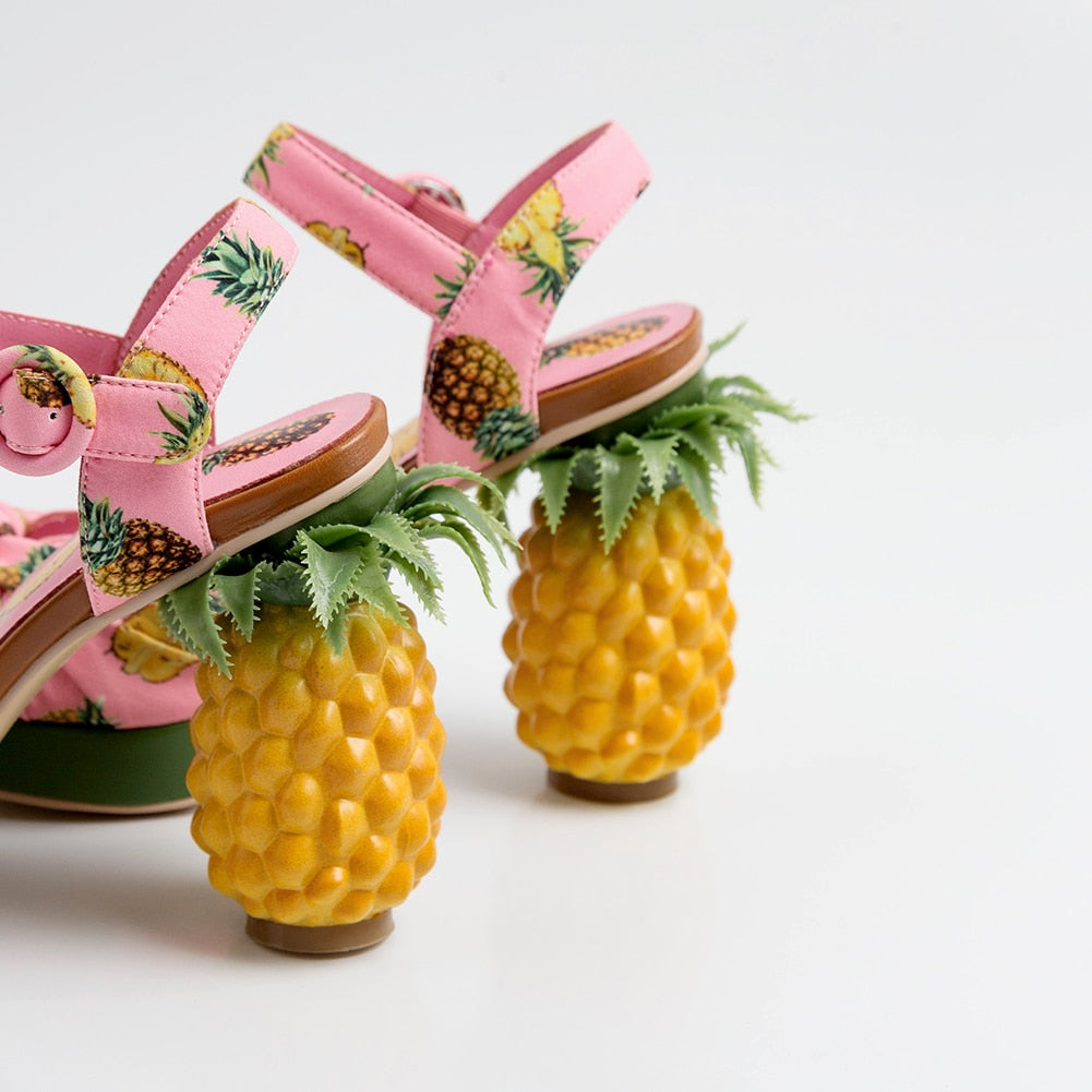 PINEAPPLE pump sandals