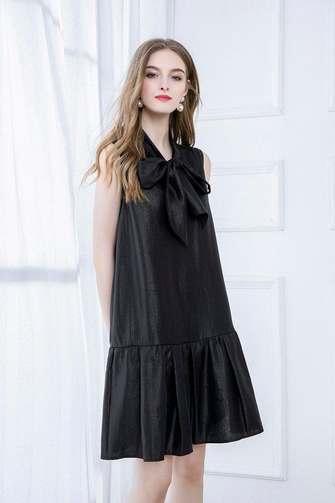 MARCIA Bow Loose Dress