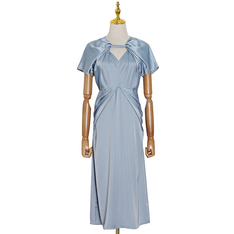 CHIRICO Ruched Midi Dress in colors
