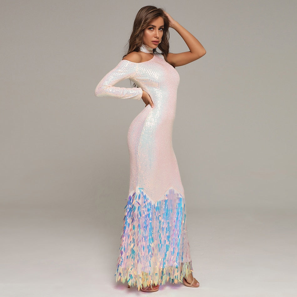 ARIA Ethereal Evening Gown