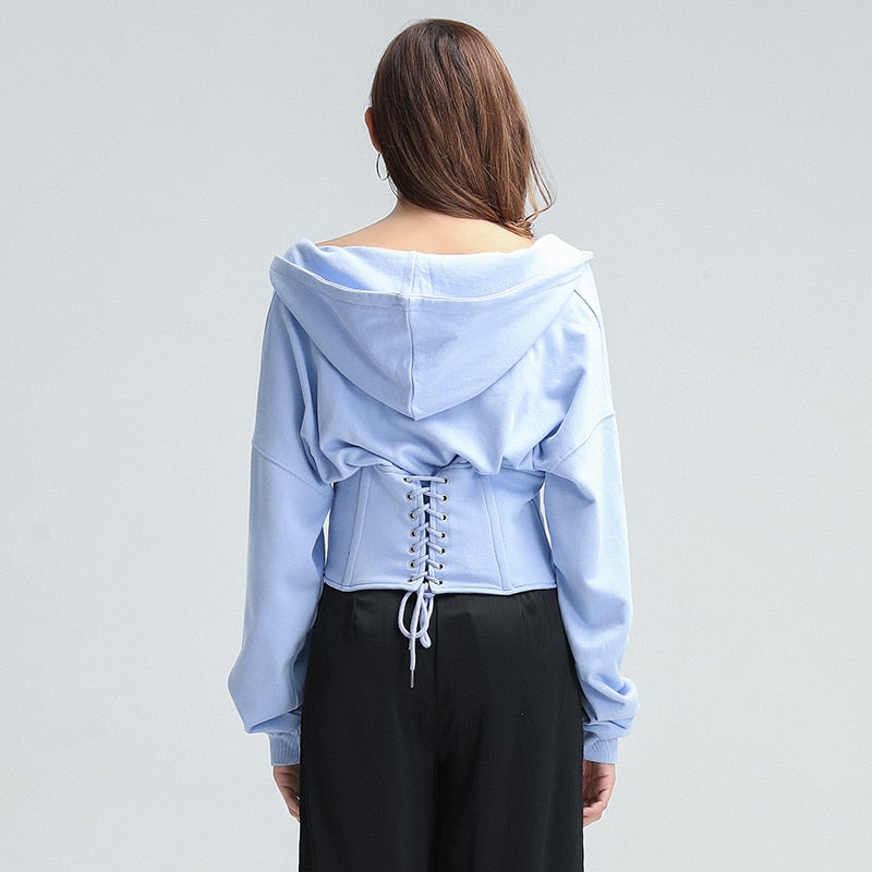 Corset-like tunic in many colors