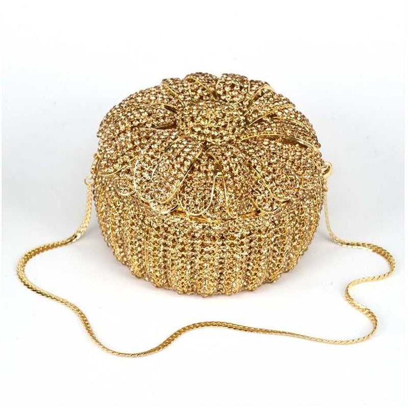 GOLDEN TART embellished purse