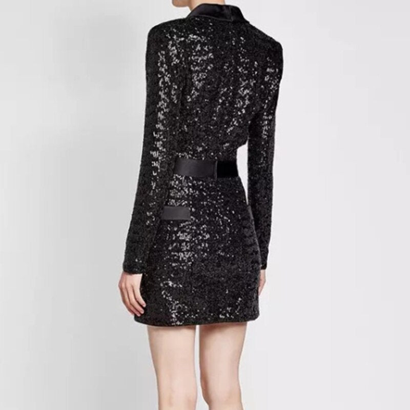 Soho sequined mini party dress