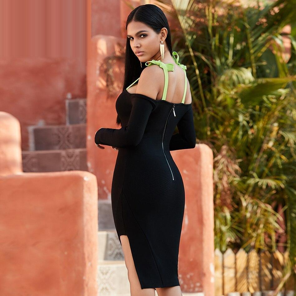 VEDA Off Shoulder Sheath Dress