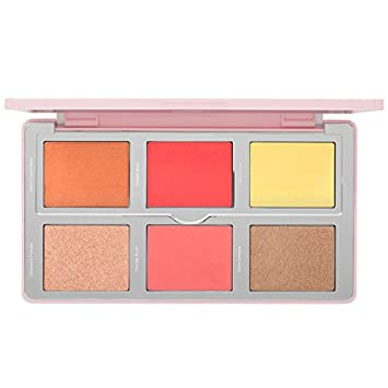 Natasha Denona Diamond & Blush Palette  color Citrus