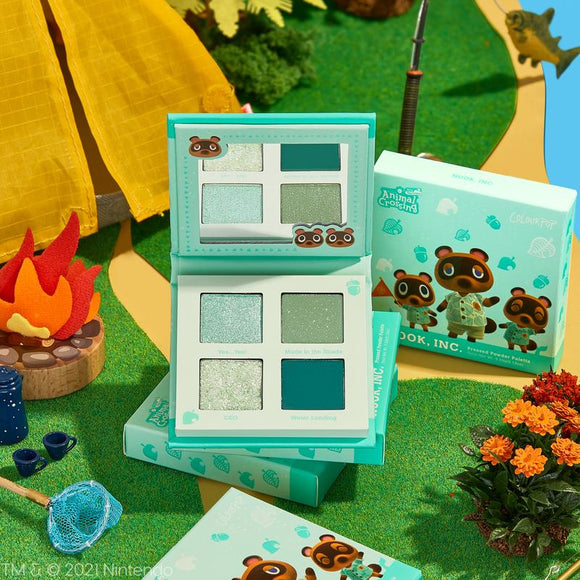 Colourpop Animal Crossing nook, inc. shadow palette
