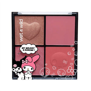Wet n Wild My Melody + Kuromi Blush Palette