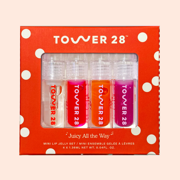Tower 28 Beauty Mini Juicy All The Way Lip Jelly Set