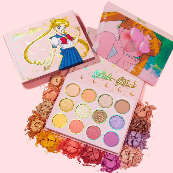Colourpop Sailor Moon pretty guardian shadow palette
