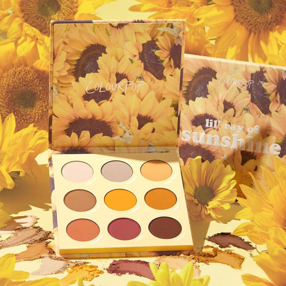 Colourpop LIL RAY OF SUNSHINE shadow palette