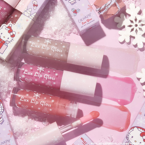Colourpop Hello Kitty Big Surprise Lux Gloss Trio