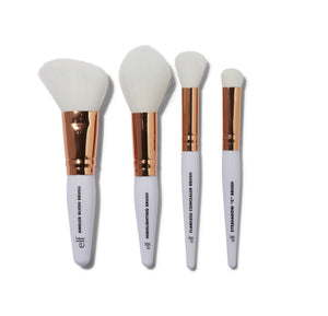E.L.F. ROSE GOLD TRAVEL BRUSH KIT