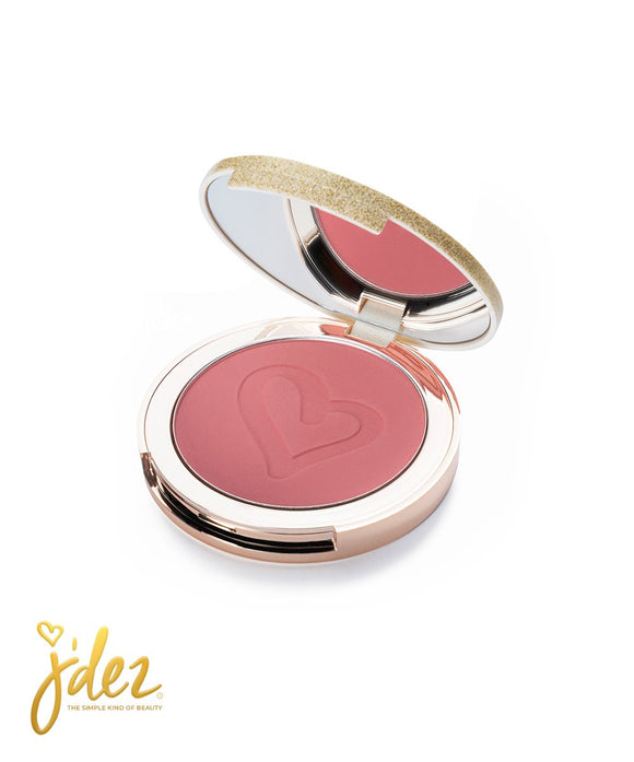 Jdez Beauty Simply Blush - Totally Peachy