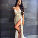 Sequin Tassel Club Wear Maxi Long Dress