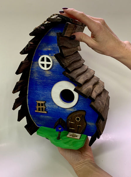 Rustic Drop Birdhouse