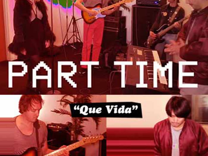 "BURGER RECORDS X VOLCOM PRESENT CYBER SINGLES CLUB: PART TIME ""QUE VIDA"""