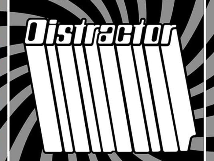 "BURGER RECORDS X VOLCOM PRESENT CYBER SINGLES CLUB: DISTRACTOR - ""SIX FOOT MOON"""
