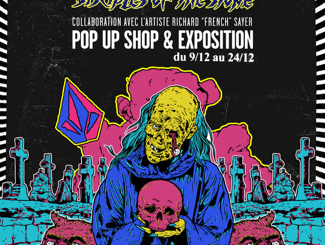 Volcom Pop Up Shop, Disciples Of The Stone, Paris
