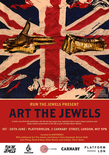 Run The Jewels 'Art The Jewels' U.K. Exhibition