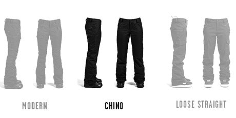 Femme Coupe Chino