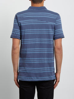 Polo Wowzer Stripe - Deep Blue