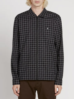 The Dweller Shirt - Black (A0531902_BLK) [F]