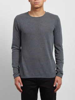 Pullover Harweird crew - Pewter