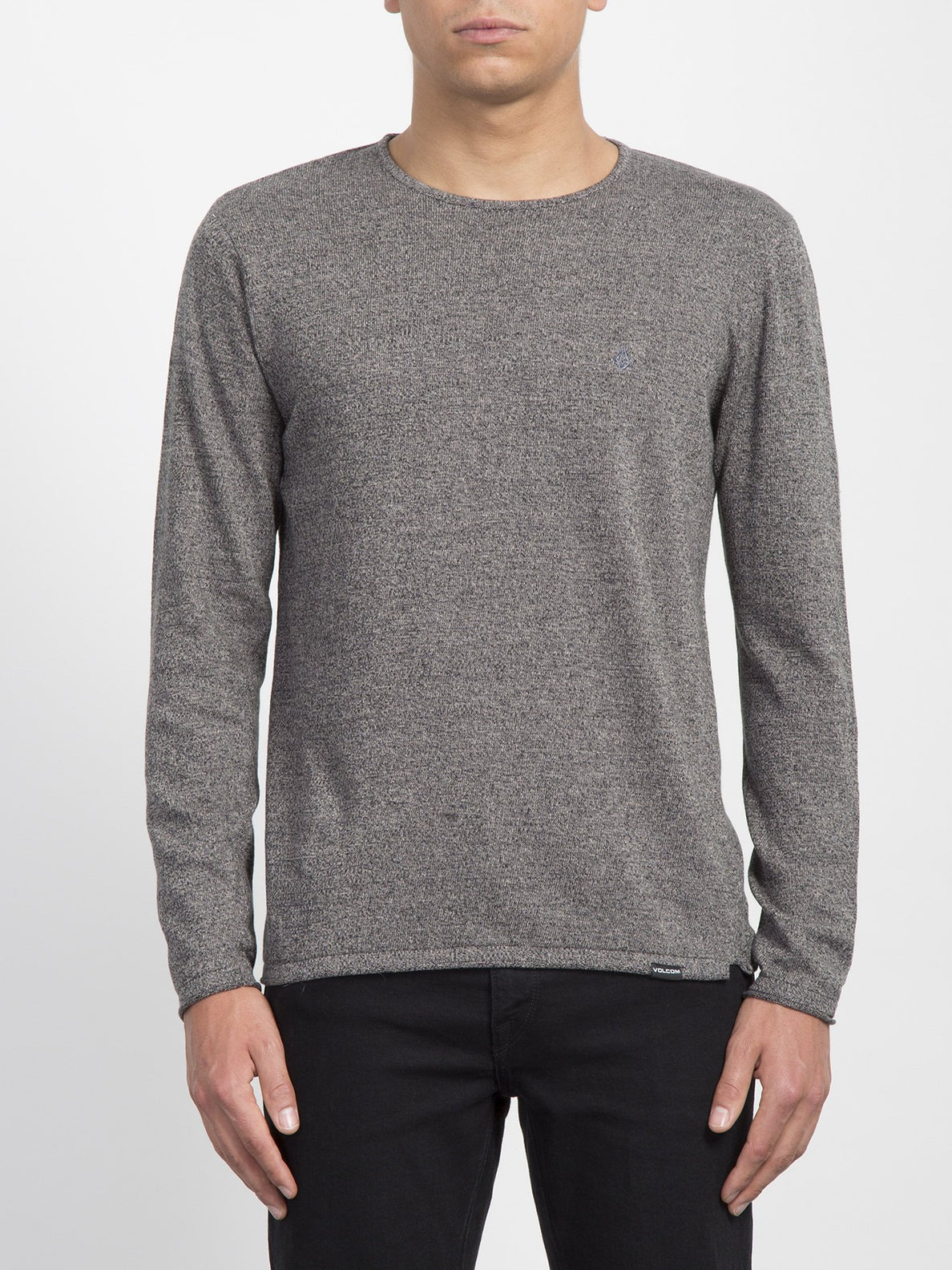 Pullover Faine Crew - Heather Grey