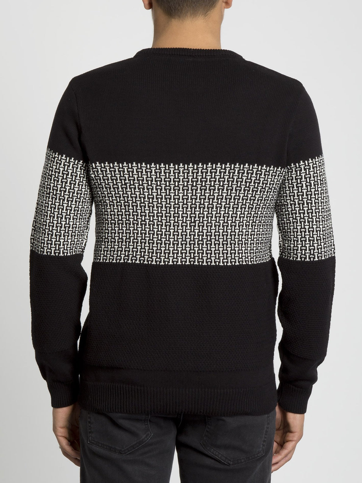 Past Your Time Sweater - Black (A0731901_BLK) [B]