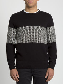 Past Your Time Sweater - Black (A0731901_BLK) [F]