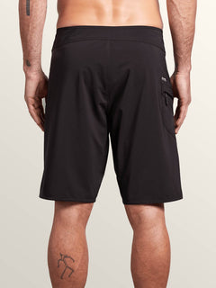 Boardshort Lido Solid Mod 20 - Black