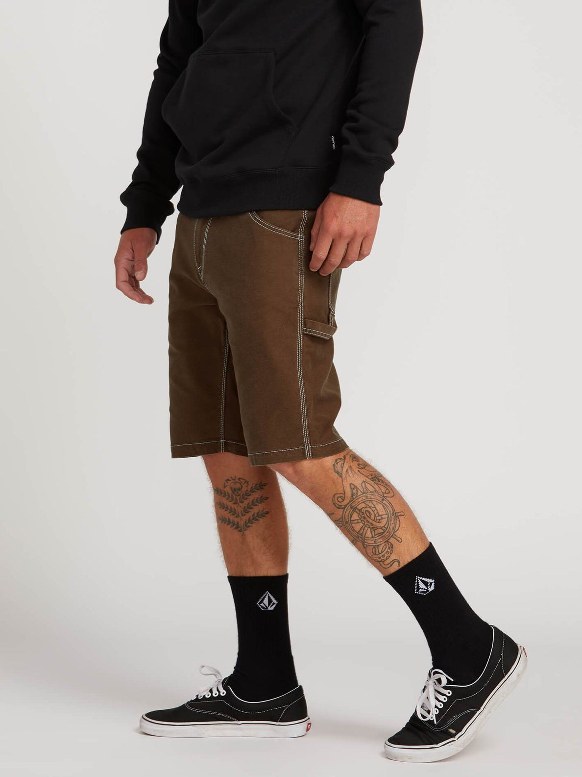 Short Whaler Utility - Dark Brown
