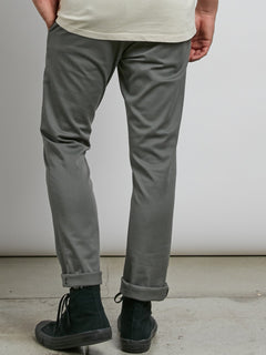 Pantalon chino Frickin Skinny - Dusty Green