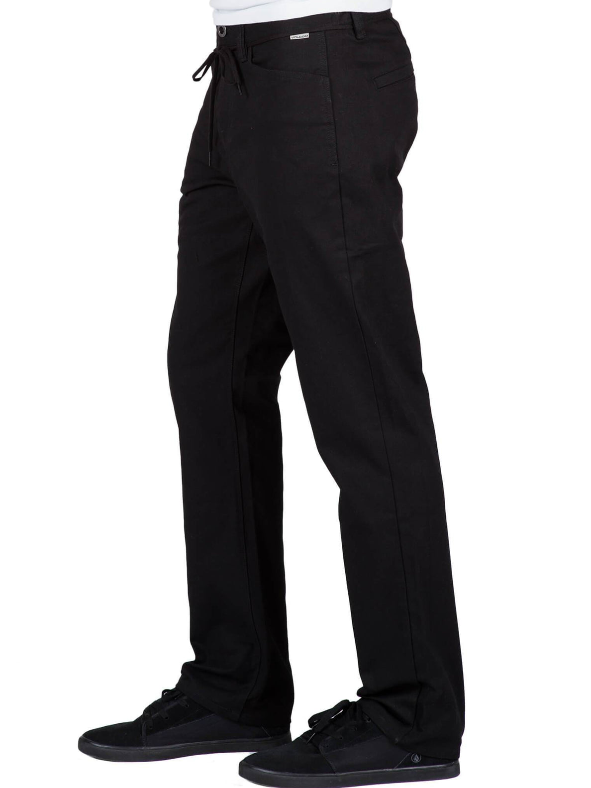 Pantalon chino VSM Gritter Regular - Black