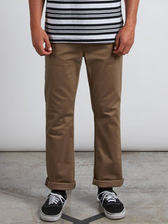 Pantalon Vorta 5 Pocket Slub - Grain