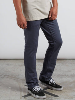 Pantalon Vorta 5 Pocket Slub - Midnight Blue