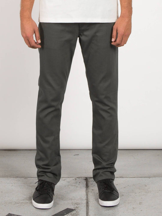 Pantalon Vorta 5 Pocket Slub - Military