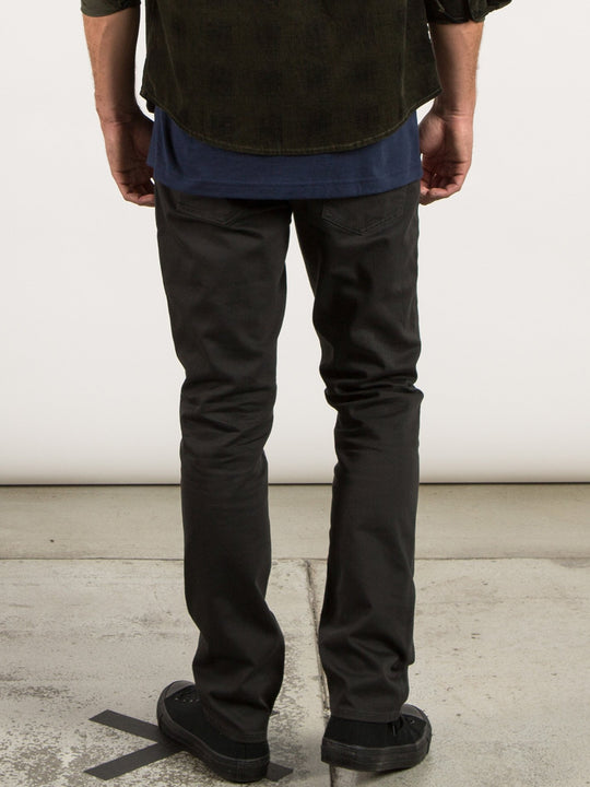 Pantalon Vorta 5 Pocket Slub - Stealth