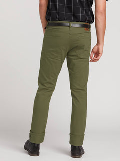 Pantalon Vorta Slub - Vineyard Green