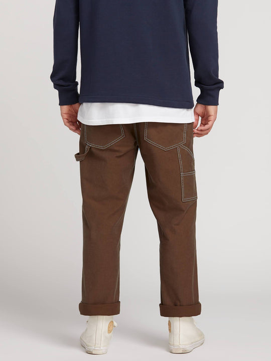 Pantalon Whaler Util - Dark Brown