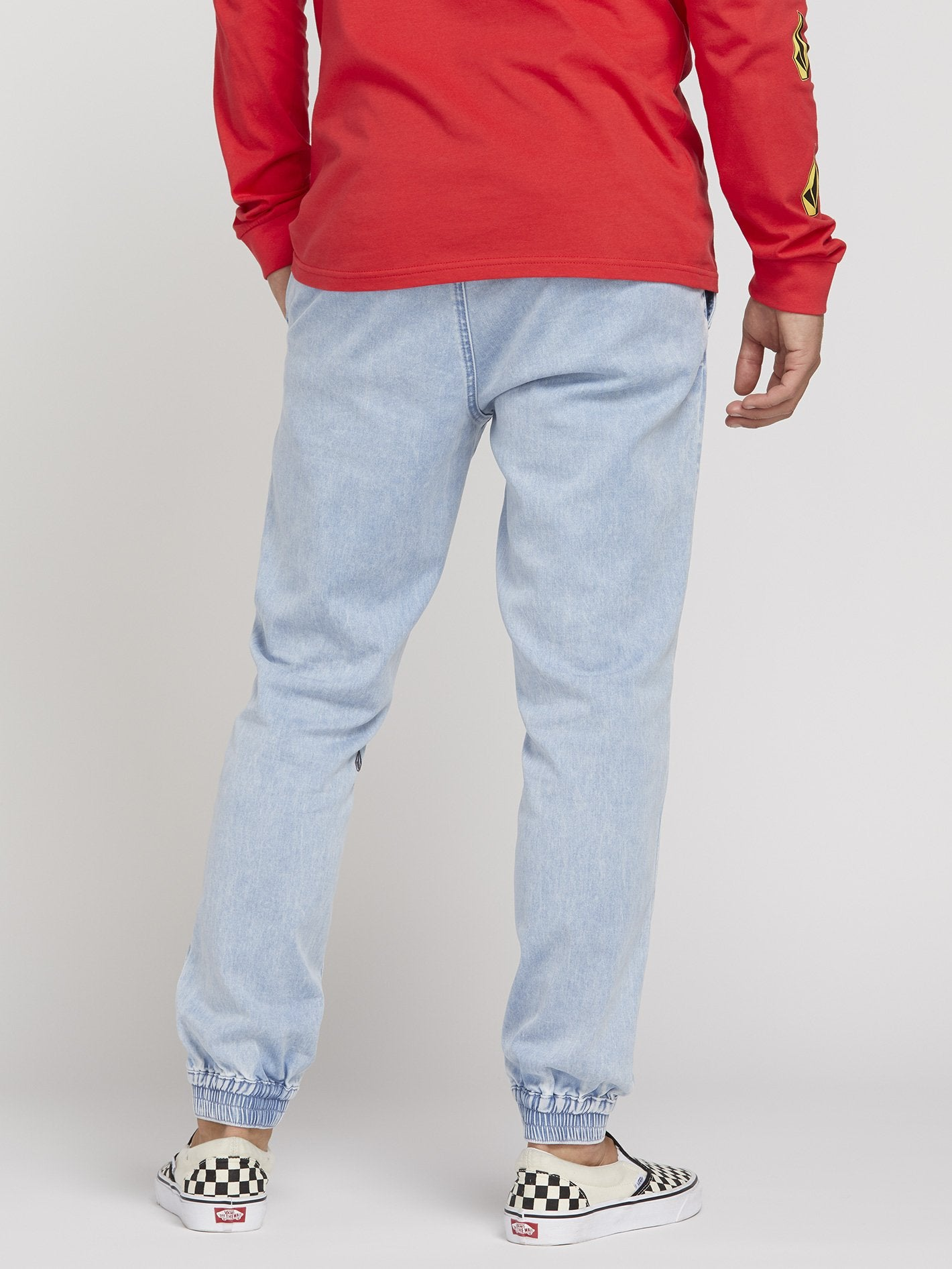 026410dc38b Pantalon Jogger Denim - Blue