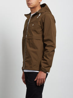 Veste à capuche Howard - Seaweed Green